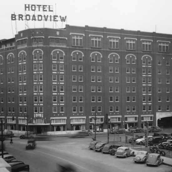 Broadview Hotel Tour Historic Downtown Wichita