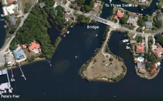 Kings Bay Drive Bridge King S Bay Florida Self Guided Manatee Tour