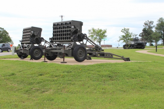 M91 115mm Multiple Rocket Launcher - Fort Leonard Wood
